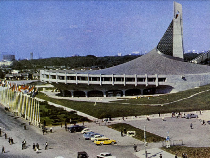 Yoyogi National Gymnasium, 1964.
