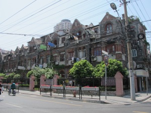 Evidence of Jewish settlement in the Hongkou District, Shanghai.